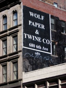 """""""Wolf Paper""""? What's it like on a full moon?"""